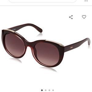 Chloe Cat eye Sunglasses CE660S 603 Bordeaux